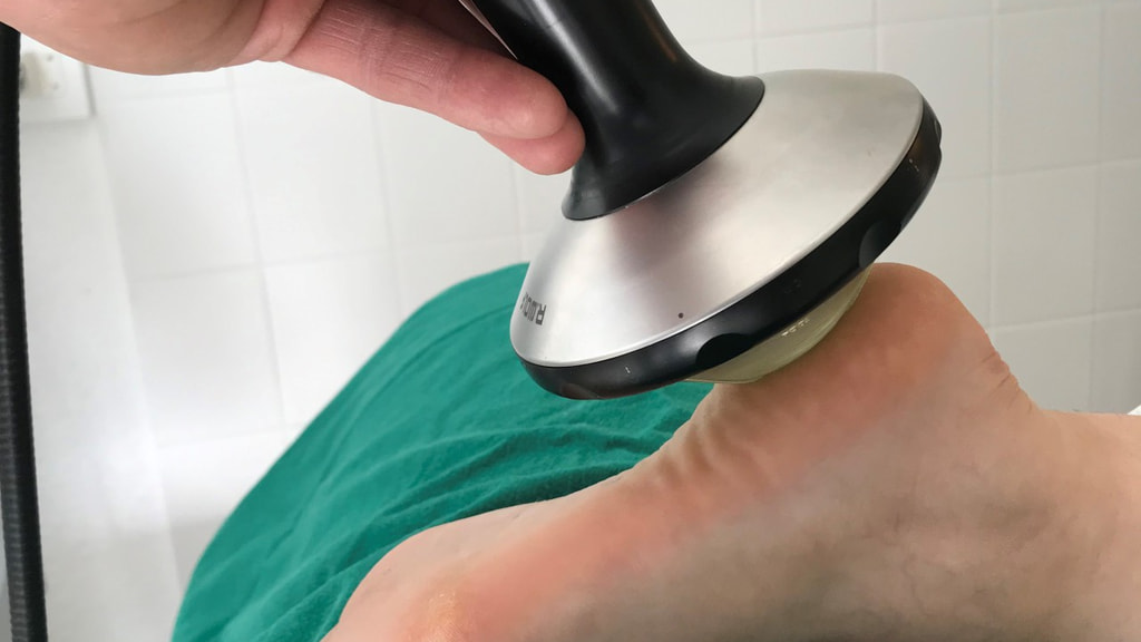 Entzündete Fußsohle