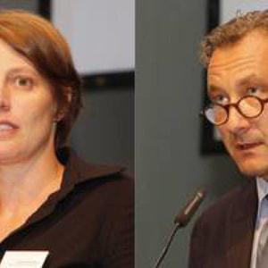 Susanne Amann und Armin Huttenlocher. Fotos: Richard