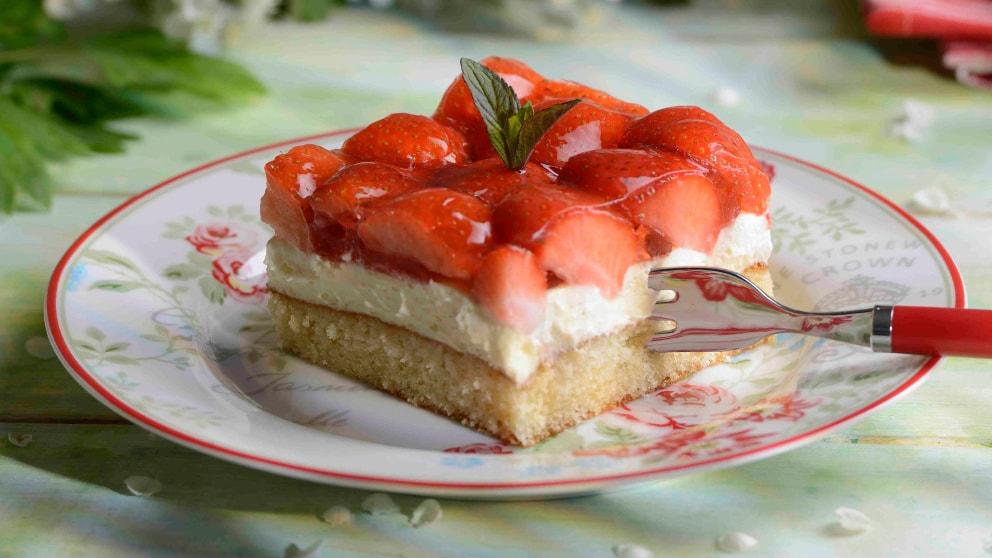 Erdbeer Schmand Kuchen Rezepte Wochenblatt Für Landwirtschaft