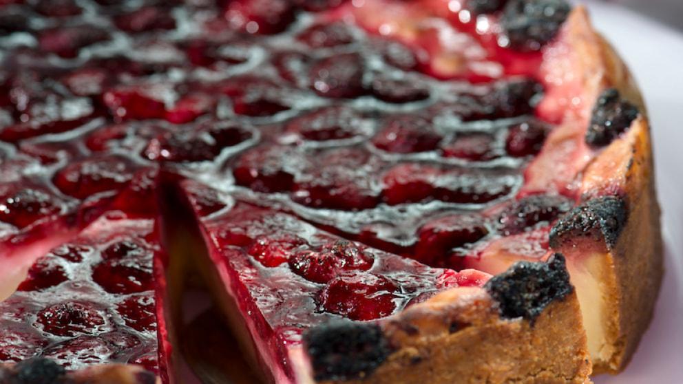 Pudding Schmand Kuchen Mit Himbeeren Rezepte Wochenblatt Fur