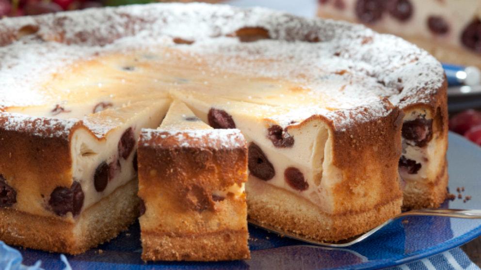 Quarkkuchen Mit Susskirschen Rezepte Wochenblatt Fur