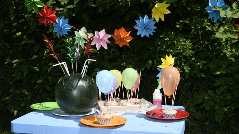 Ideen für eine Kinder-Garten-Party - Kreatives - Landleben ...